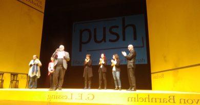 Als Ehrengäste im Pfalztheater in Minna von Barnhelm
